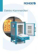 Rohde Brennofen Prospekt  Elektro-Frontlader